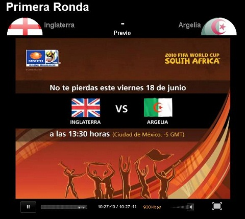 inglaterra argelia en vivo mundial Inglaterra vs Argelia en vivo