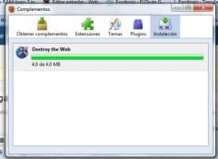 Destroy the Web, juega con Firefox - intalar-complementos-firefox
