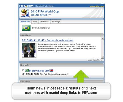 mundial futbol 2010 chrome Sudafrica 2010 en Google Chrome