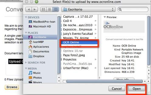 ocr online 2 Como convertir documentos escaneados a texto con OCR Online