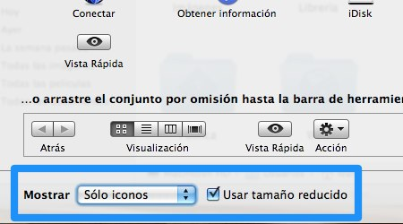 personalizar barra herramientas mac 4 Como personalizar las Barras de Herramientas de Mac