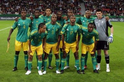 Grupo A, Mundial Sudafrica 2010 - seleccion-sudafrica-20101