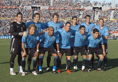 Grupo A, Mundial Sudafrica 2010 - seleccion-uruguay-mundial2010