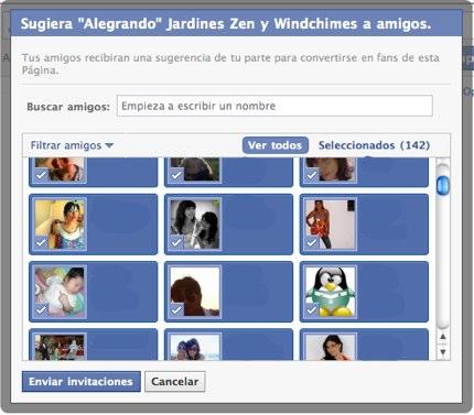 seleccionar todos amigos facebook 4 Como seleccionar todos tus amigos en Facebook
