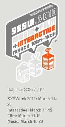 SXSW 2011 dará a conocer avances latinoamericanos - sxsw-2011-fechas