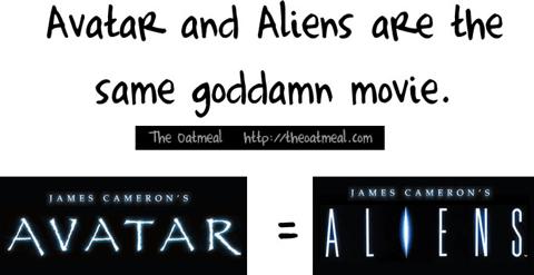 Avatar y alien son la misma pelicula Porque Avatar y Alien son la misma pelicula