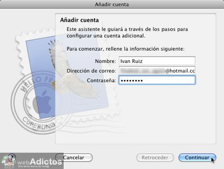 Como agregar cuentas de correo a mail de mac 3 Como agregar cuenta de correo a Mail de Mac