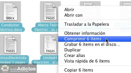 Como comprimir un archivo en mac 3 Como comprimir archivos en Mac
