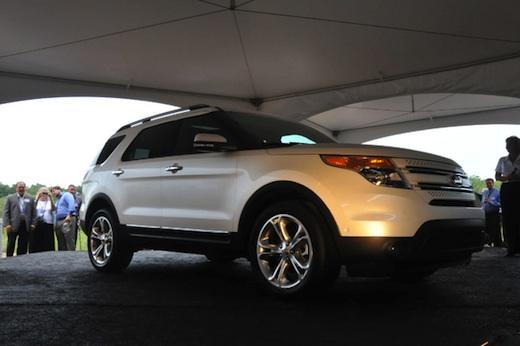 Ford Explorer 2011, video de presentación en Facebook - Ford-explorer-2011