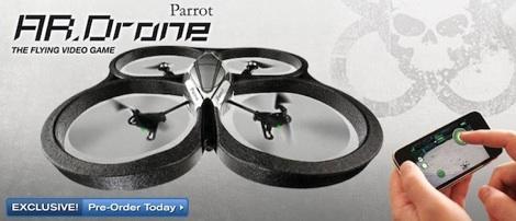 Parrot AR Drone iPhone iPod iPad preordenar Parrot AR.Drone disponible para pre orden en Estados Unidos