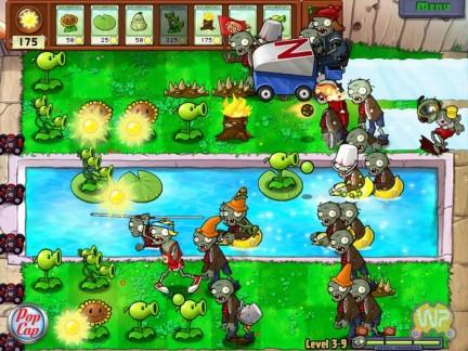 Plantas vs Zombies para el Xbox Live Plantas vs Zombies en Xbox Live