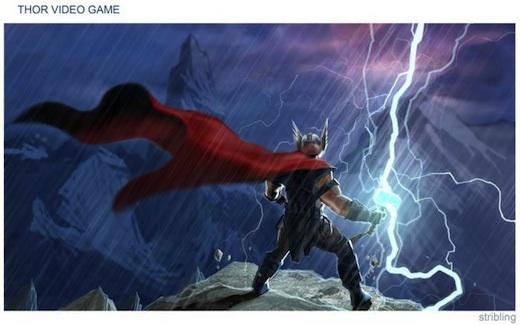 Teaser trailer del juego de Thor - Thor-The-video-Game