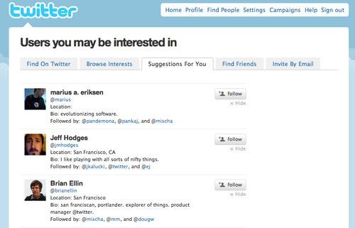 Twitter añade sugerencias de usuarios - Twitter-recomienda-usuarios
