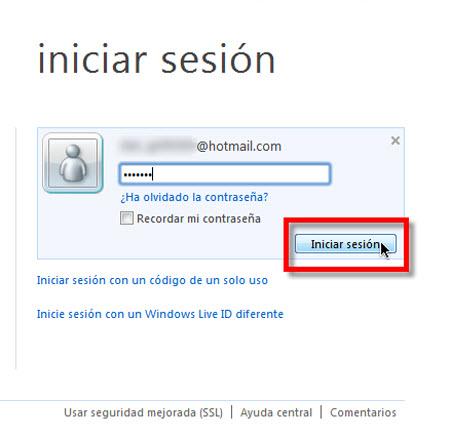 acceder office live Crear documentos de Office 2010 en línea