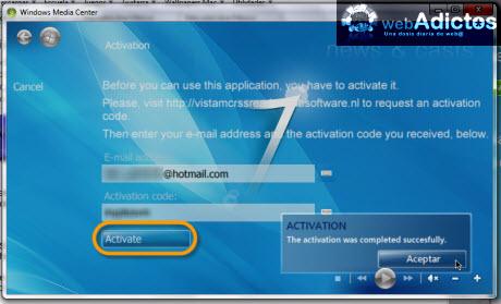 Accesa a tus RSS desde Windows Media Center - activar-lector-rss