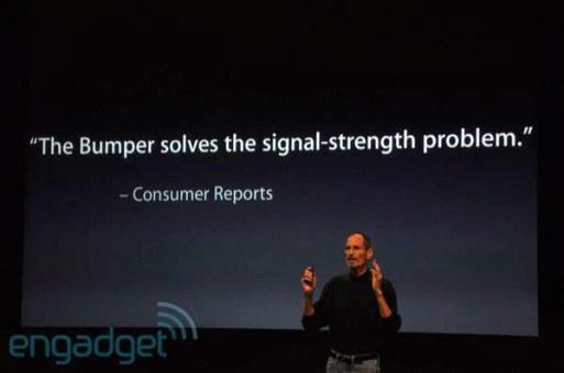 """Apple regalará fundas para """"solucionar"""" los problemas de antena del iPhone 4 - apple-bumper-problem"""