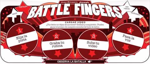 Battle Fingers por Sony Ericsson - battle-fingers