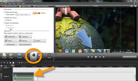 Graba tu escritorio con Camtasia Studio - controlar-sonido-en-grabacion