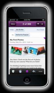 correo yahoo iphone Nueva versión de correo yahoo para iPhone en HTML5