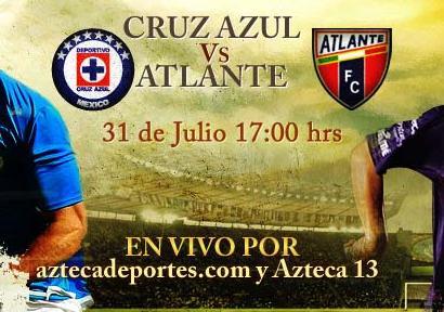 Cruz Azul vs Atlante en vivo, Apertura 2010 - cruz-azul-atlante-en-vivo-apertura-2010