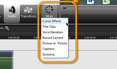 Graba tu escritorio con Camtasia Studio - efectos-video-grabacion