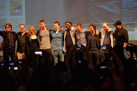 Elenco de la película The Avengers - elenco-de-la-pelicula-the-avengers