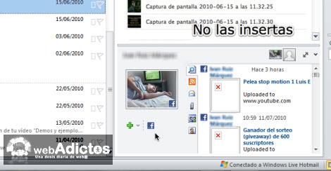facebook outlook Revisa tu Facebook desde Outlook 2010