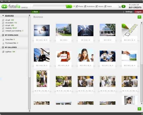 fotolia escritorio Fotolia lanza app de escritorio