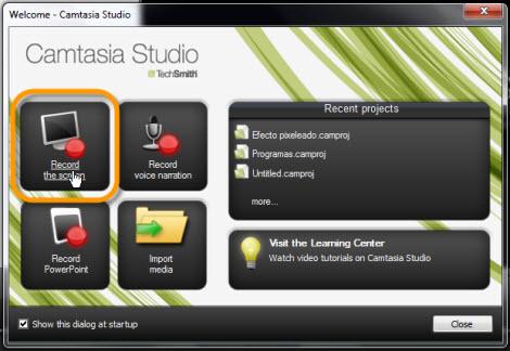 Graba tu escritorio con Camtasia Studio - grabar-pantalla