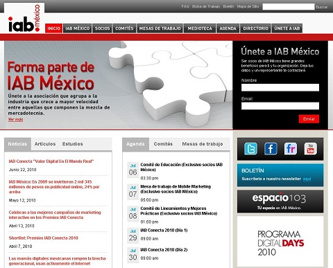 IAB México estrena sitio web - iab-mexico-sitio-web