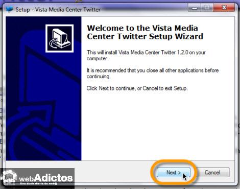Revisa tu Twitter desde Windows Media Center - instalar-windows-media-center-twitter
