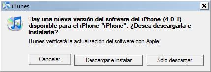Actualización iOS 4.0.1 liberada - ios4.0.1