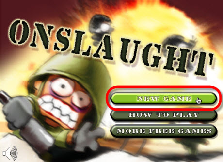 Juego online, Onslaught Shooter - juegos-gratis-online