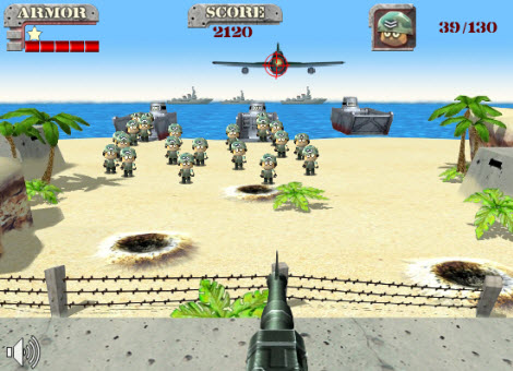 Juego online, Onslaught Shooter - juegos-online-onslaught