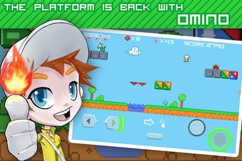 omnia juego 2d iphone Omino, un juego 2D tipo Mario para iPhone