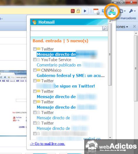revisar hotmail Checar correo hotmail desde Google Chrome