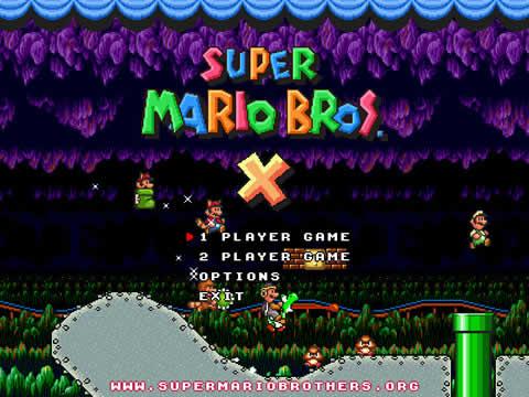 super mario Super Mario Bros X