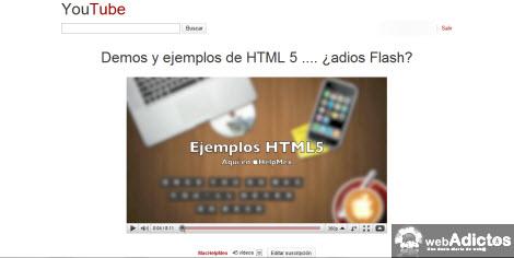 youtube sin distraciones Ver videos de YouTube sin distracciones en Safari