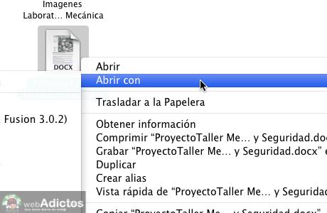 Cambiar la aplicacion que abre un archivo por omisión en Mac - Abrir-con-otra-aplicacion-por-omision_2
