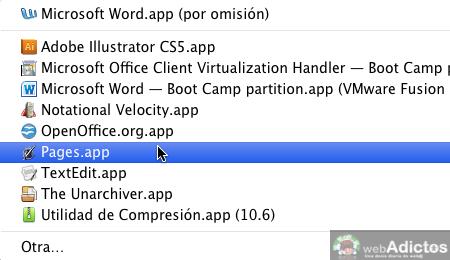 Cambiar la aplicacion que abre un archivo por omisión en Mac - Abrir-con-otra-aplicacion-por-omision_5