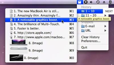 Descarga ClipMenu 1 5 Aplicaciones gratis de Mac para el regreso a clases