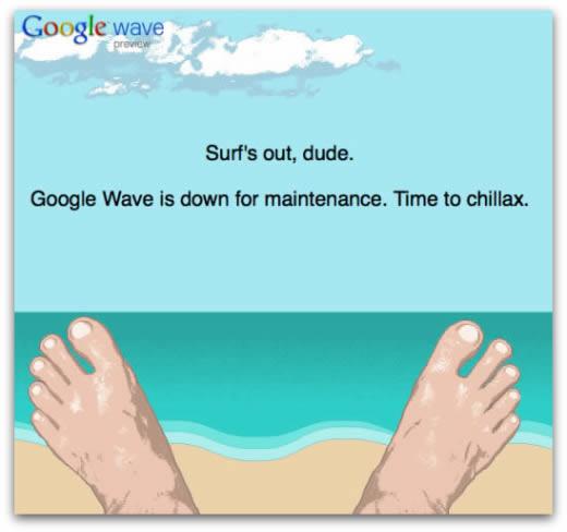 Google abandona el proyecto de Google Wave - Google-wave-cancelado