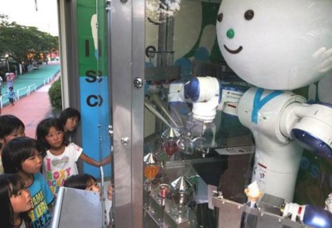 Robot que sirve helados, Yaskawa-kun - Yaskawa-kun