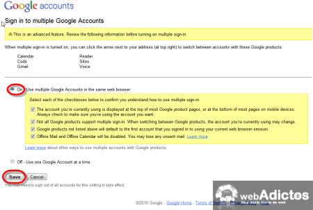 Accesar a multiples cuentas de Gmail - activar-multiples-cuentas-gmail