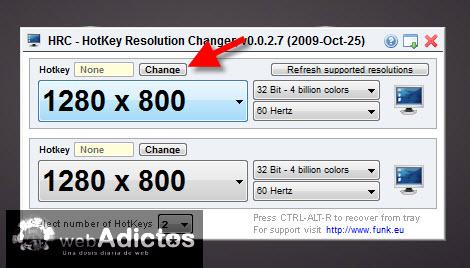 Cambiar la resolución de la pantalla con un atajo - agregar-atajo-cambiar-resolucion1