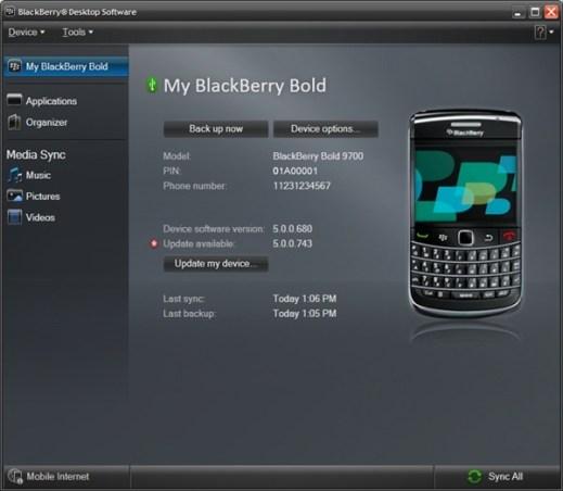 BlackBerry Desktop Manager 6 disponible para su descarga - blackberry-desktop-6