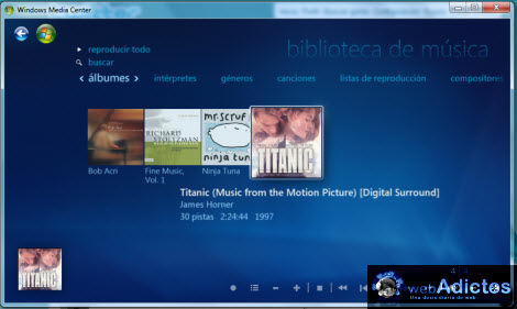 cd copiado windows media center Copiar un CD desde Windows Media Center