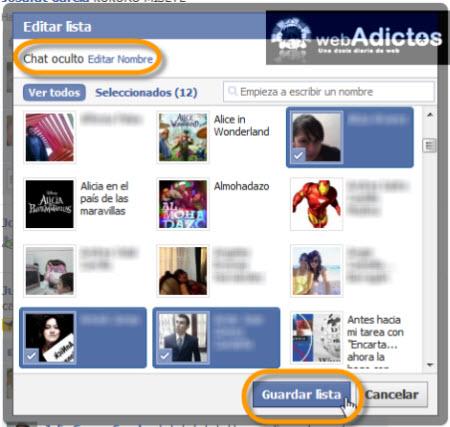 contactos bloqueados chat facebook Bloquear a usuarios específicos en el Chat de Facebook