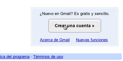 crear correo gmail 1 Crear correo Gmail