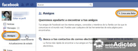Bloquear a usuarios específicos en el Chat de Facebook - crear-listas-amigos-facebook